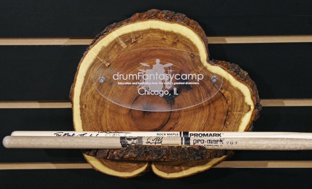 dfc msq 04 mesquite drum fantasy camp wall hanging plaque stick holder. Black Bedroom Furniture Sets. Home Design Ideas